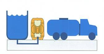 QBY气动隔膜泵 安装尺寸图3